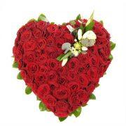 inima de trandafiri