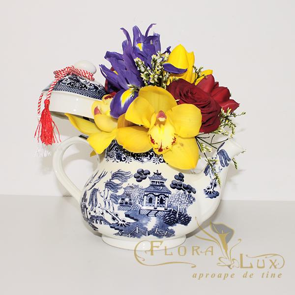 aranjament floral martisor 4