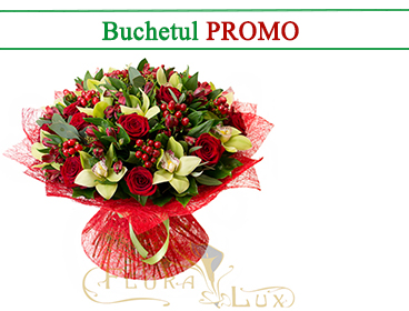 buchet flori promo