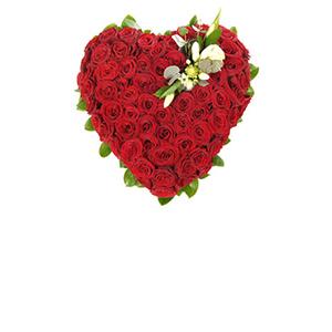 Inimi cu flori