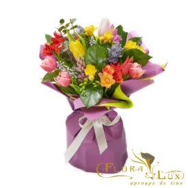 buchet flori de primavara