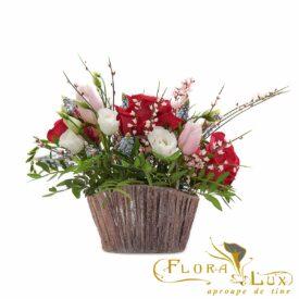 poseta cu flori